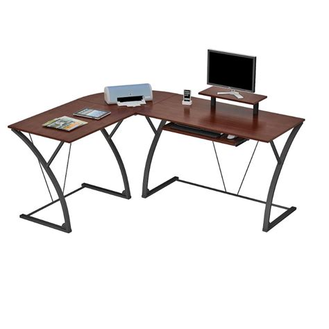 brown l shaped desk espresso brown l shaped desk khloe rc willey furniture