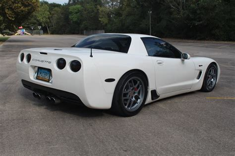 White Sale by 2001 Corvette Z06 Speedway White 1 Of 352 6 0l Cammed