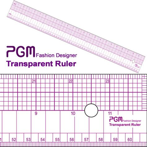 pattern grading measurements pgm pattern grading ruler 24 quot 60cm 808a pgmdressform com