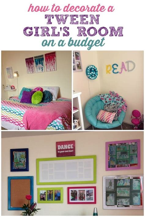 diy bedroom decor for tweens decorating a tween girl s room on a budget tween girls