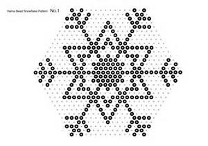 hama bead template printable last minute craft bead and paper snowflakes