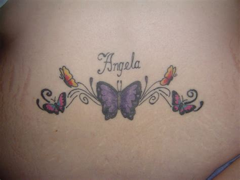 tattoo gallery lower back butterfly lower back tattoos best tattoo design ideas