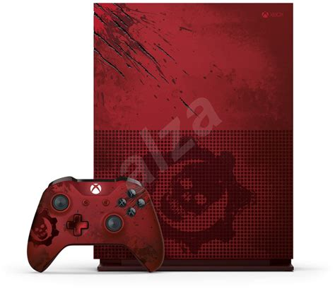 Premium Xbox One S Gear Of Wars 2tb Aif612 microsoft xbox one s 2tb gears of war limited edition