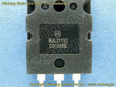 transistor mjl semiconductor mjl21193 mjl 21193 transistor silicon pnp 250v 16a 200w 4mhz