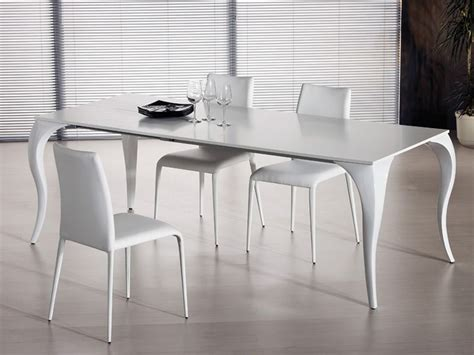 tavolo in policarbonato bond tavolo fisso midj in policarbonato con piano vetro