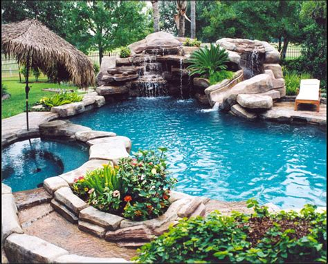 Casual Casa Amazing Natural Looking Pool Cool Backyard Pools