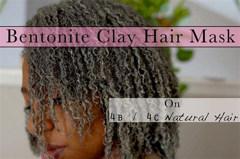 bentonite clay tattoo removal bentonite clay hair mask on 4b 4c hair