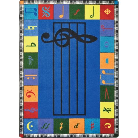 musical rugs note worthy musical activity rugs 5 4 quot w x 7 j w pepper sheet
