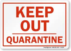 Initials Jewelry Quarantine Signs Quarantine Safety Signs