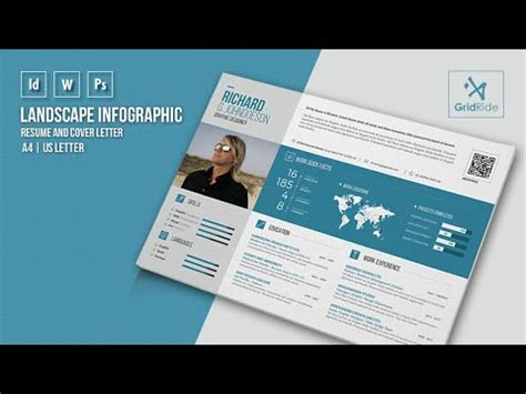 infographic resume template indesign how to customize resume template in adobe indesign