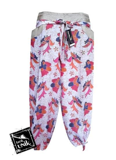 Celana Kulot Panjang Katun Murah B30417005mot3bru Bawahan Batik celana batik aladin panjang motif batik modern bawahan