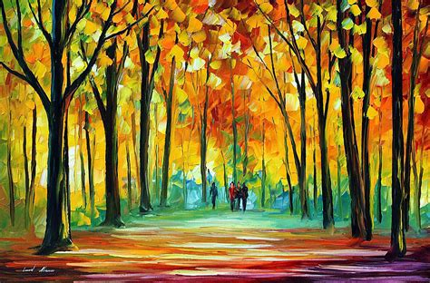 Painting Date by Friends Date Palette Knife Painting On Canvas By