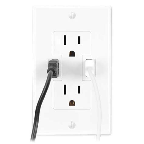 outlet with usb ports cheaper than a shrink