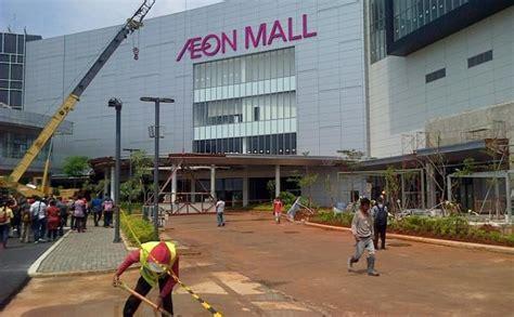 Lipstik Purbasari Di Aeon Mall aeon mall akan dibuka di bsd city pada akhir mei 2015 wartakota