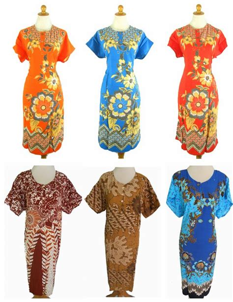 Grosir Murah Baju Jumbo Dress Lemon daster grosir batik gamis batik dress batik batik jual