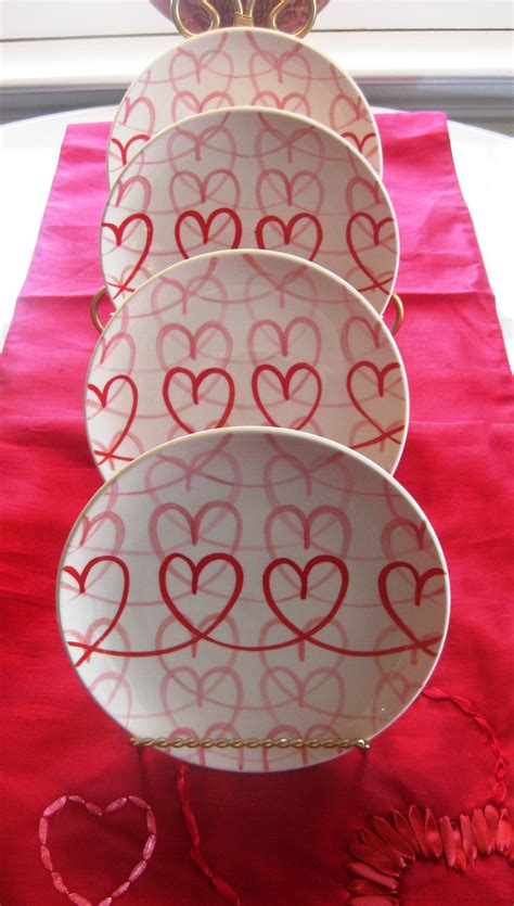 valentines day plates 187 accent plates for valentine s day door