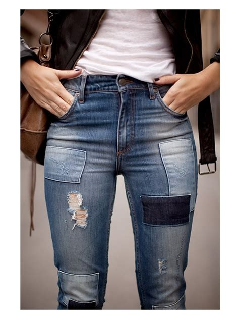 Patchwork Denim Trend - patches on trends images