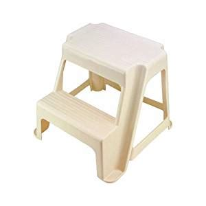 Rubbermaid Step Stool by Rubbermaid Bisque 2 Step Stool Kitchen Dining