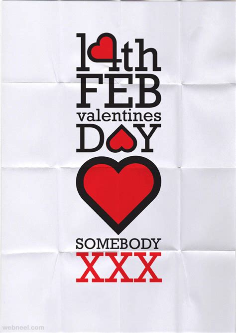 valentines posters 50 best valentines day design inspiration for you