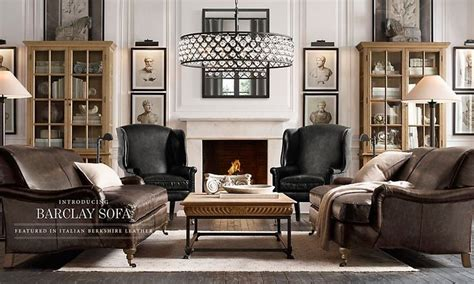 restoration hardware living room ideas rooms restoration hardware natural history museum style