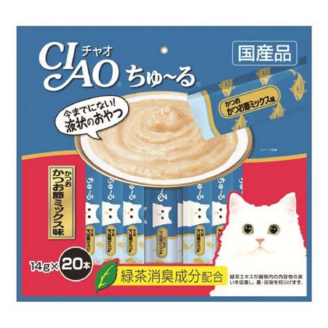 Ciao Chu Ru Tuna Ciao Chu Ru Tuna Dried Bonito Mix 20x14g Loving Pets