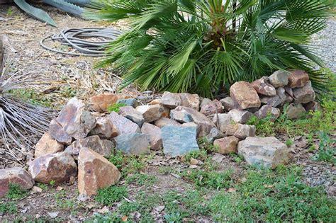 free garden rocks my weekend project a new rock garden