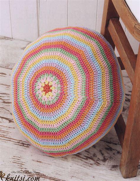 floor pillow pattern circular floor pillow crochet pattern
