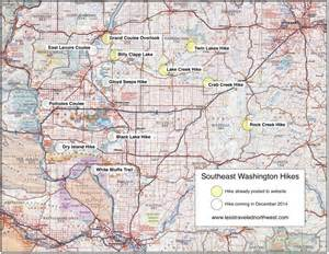 map of southeast oregon remote day hikes in southeast washington