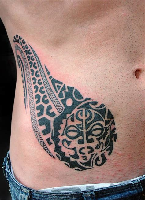mens stomach tattoos belly ideas and belly designs
