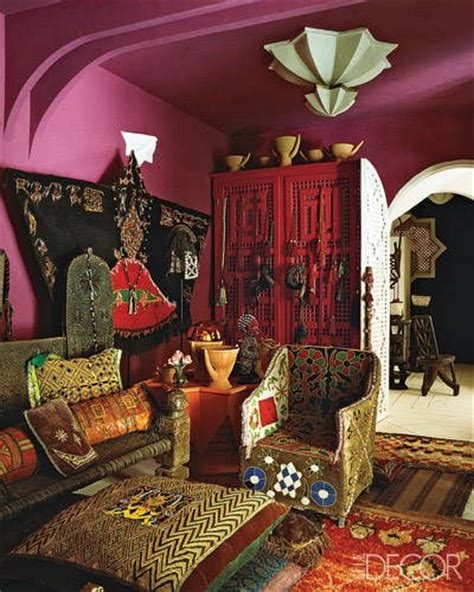 gypsy style home decor afghan warlord bed liza bruce s moroccan home an afghan