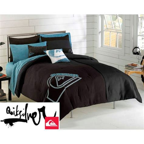 quiksilver stacked complete comforter sheet set twin xl