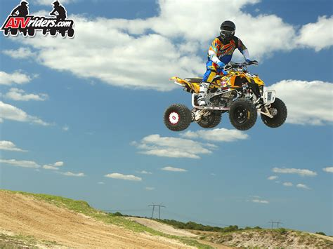 pro motocross racers pro atv motocross racer duck lloyd