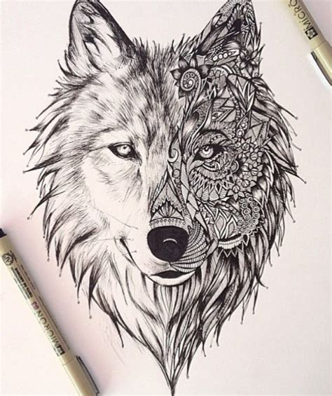 wolf mandala tattoo wolf mandala tattoos mandala and