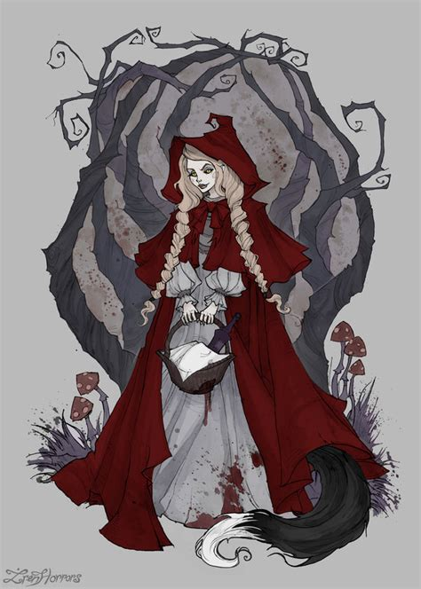 little red riding hood by irenhorrors on deviantart