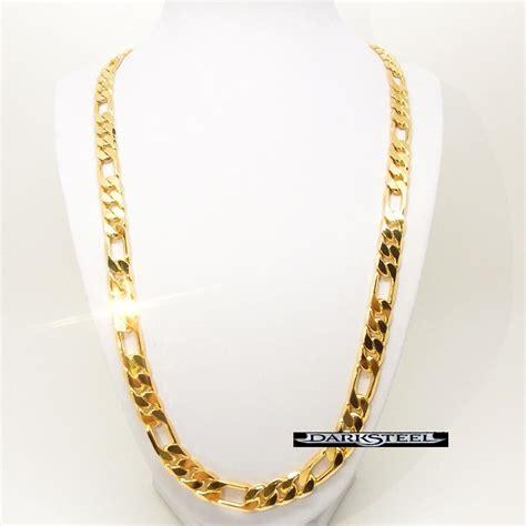cadena oro 24 kilates precio 18k cadena cartier oro laminado 61cm x 12 mm 93gs