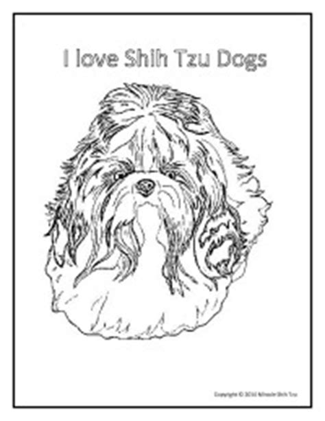 shih tzu puppies coloring pages shih poo colouring pages memes