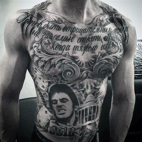 tattoo chest chicano 90 chicano tattoos for men cultural ink design ideas