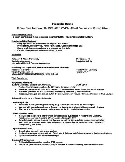Problem Solving Skills Resume Exle by Problem Solving Skills On Resume Sle