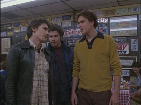 seth in freaks and geeks the garage door seth rogen