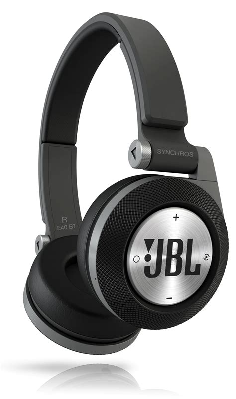 Headphone Bluetooth Jbl Jbl Synchros E40bt Black Bluetooth On Ear Headphones