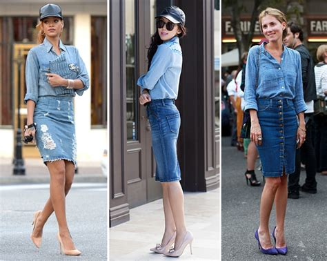 Would You Wear An All Denim Like On Project Runway Last by Denim How To Wear It Guide The