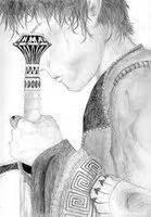 Fan Art. The King of Attolia by Megan Whalen Turner