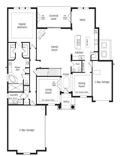 the implementation of open floor house plans home decor