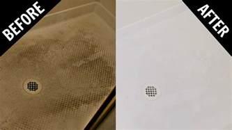 how to clean fiberglass shower floor gurus floor