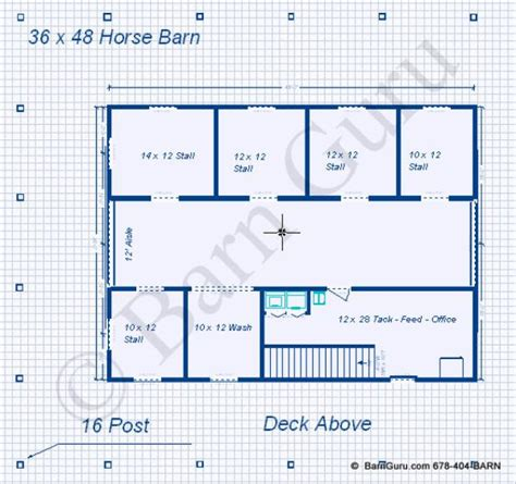 horse barn blueprints barn plans 5 stall horse barn design floor plan