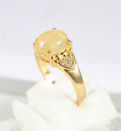 Cincin Wanita Batu Kalimaya India jual cincin titanium cewek wanita batu kalimaya pusat