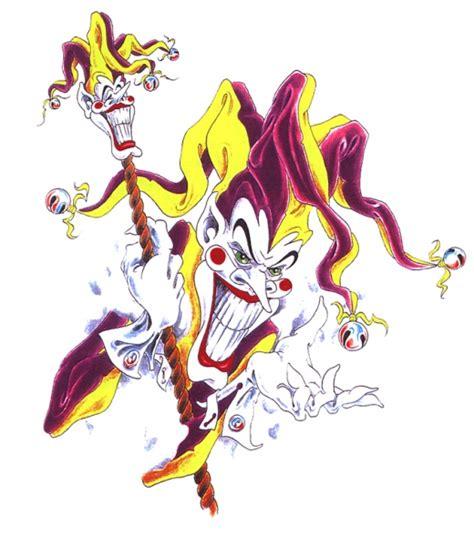 tattoo voorbeelden joker evil clowns faketattoo nl