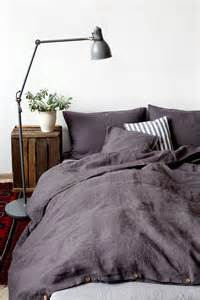 Bed Sheets Etsy Aus Grey Linen Bed Set By Linentales On Etsy
