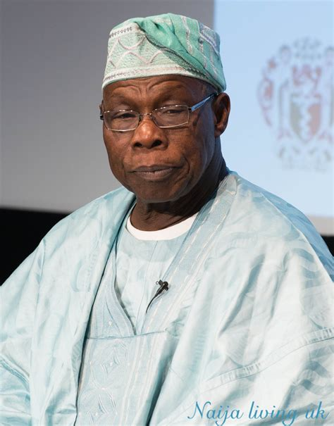 olusegun obasanjo obasanjo addresses buhari s certificategate in london