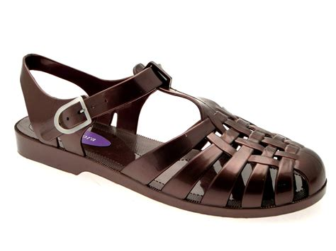 jelly sandals womens womens jelly cut out sandals flat jellies summer